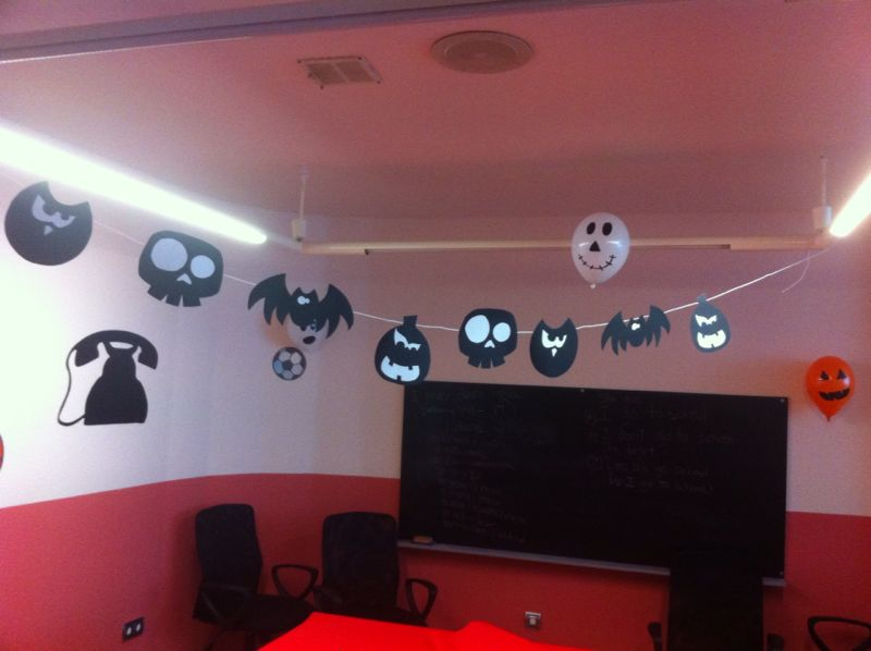 Decoración de Halloween 2013 en Welcome to the World