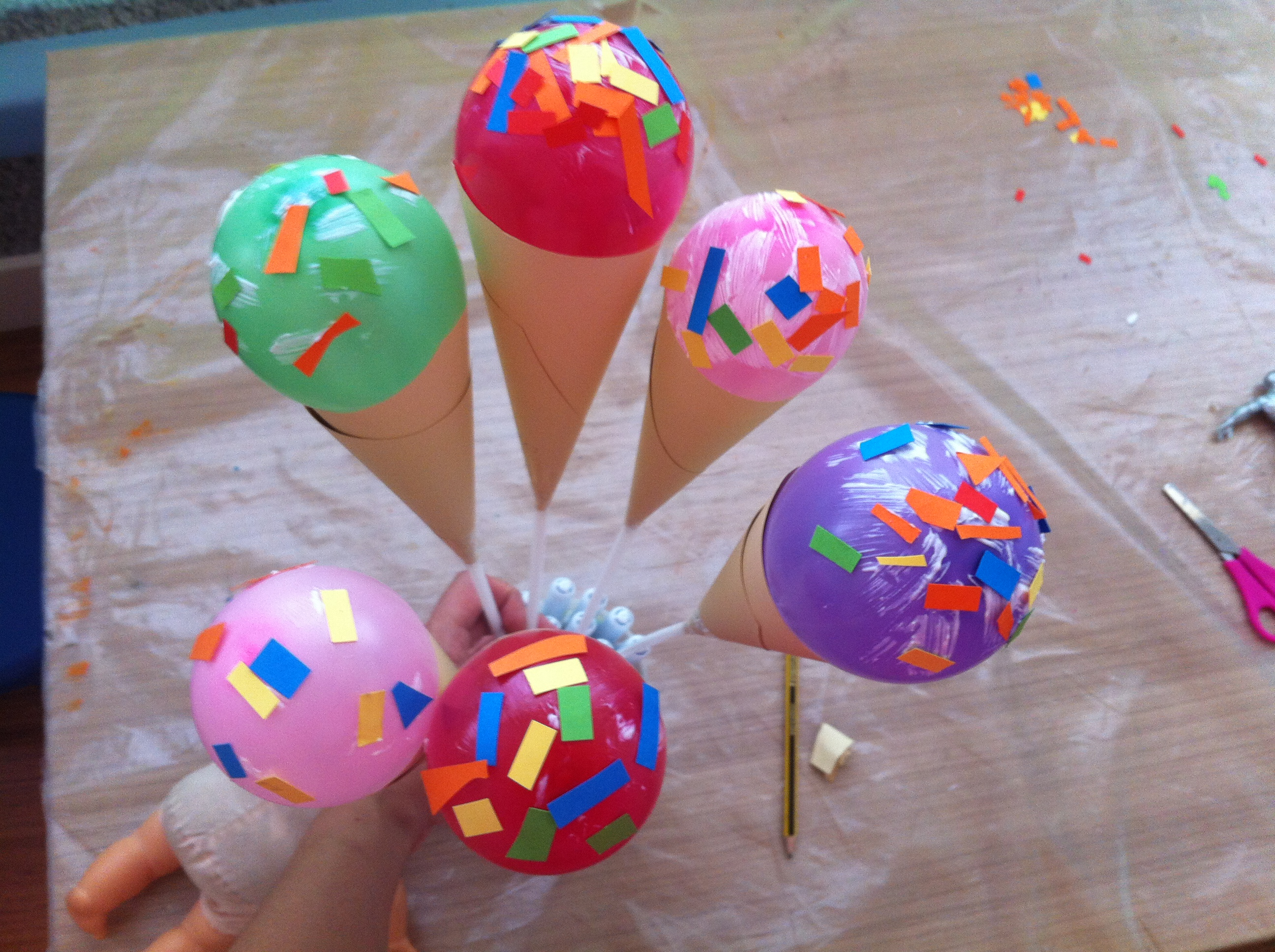 Helados en talleres de verano en inglés en Welcome to the World